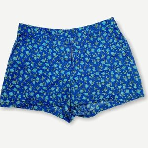 Madewell Blue Floral Shorts Broadway & Broome 10